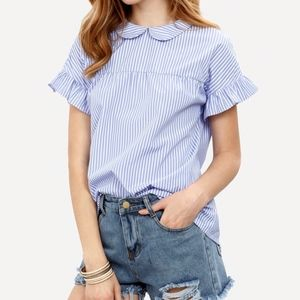 Pin Stripe Blouse